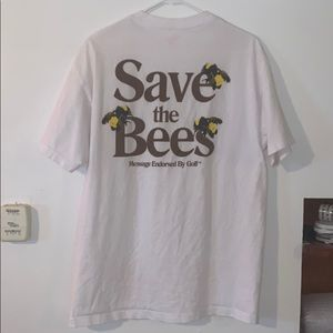 """2017 Tyler the Creator """"Save The Bees"""" T Shirt"""